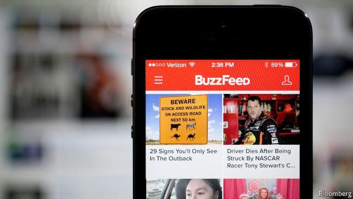 BuzzFeed mobile website screenshot