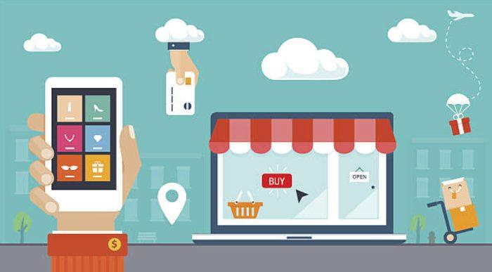 E-Commerce website navigation